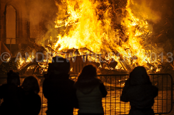 Biggar Bonfire 2013 - picture by Andrew Wilson