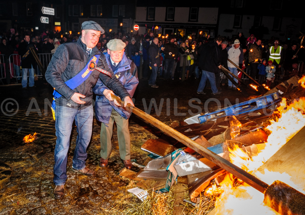 Biggar Bonfire 2013 - picture copyright Andrew Wilson