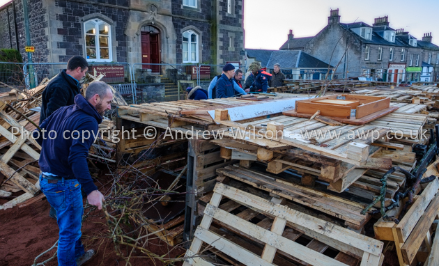 Biggar Bonfire 2018 - photo © ANDREW WILSON