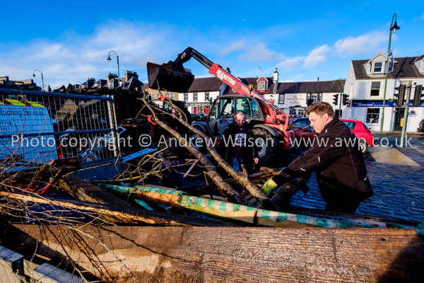 Biggar Bonfire 2018 - picture copyright © ANDREW WILSON