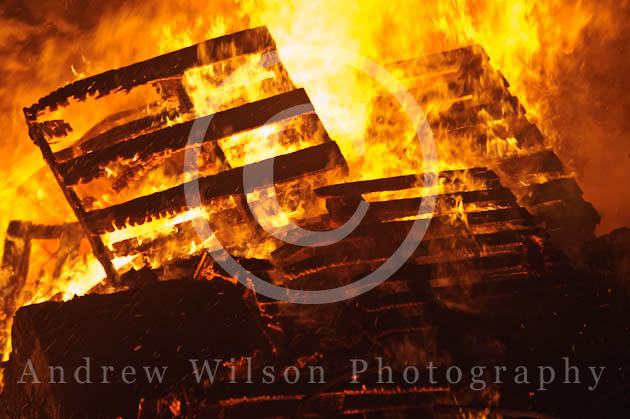 Biggar Bonfire - photo © ANDREW WILSON