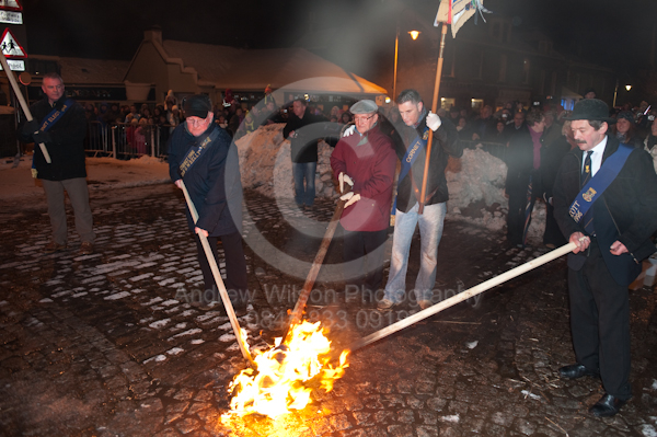 Biggar Bonfire 2009 - photography by ANDREW WILSON